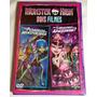 Dvd Monster High Dois Filmes Pesadelos E Por Que Monstros Ap