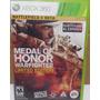 Medal Of Honor Warfighter Ed Limitada Xbox360 Medalha Honra