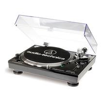 Vitrola Toca Discos Audio Technica At-lp120 Usb Dj Black
