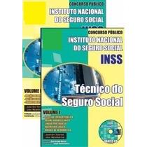 Apostila Técnico Do Seguro Social Inss 2015 + Brindes