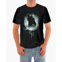 Camisa Harry Potter E Voldemort Em Malha Dryfit De Qualidade