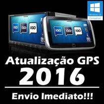 Atualização Gps 2016 3 Navegadores Igo8 Amigo Primo #9ust