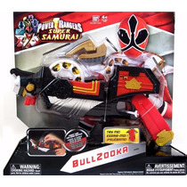 Bullzooka Power Rangers Super Samurai Original Bandai