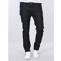 Calça Jeans Slim Masculina Max Denim - Preto
