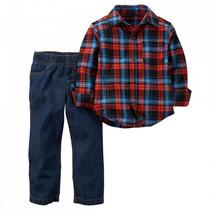 Camisa E Calça Jeans Carters Novo E Original