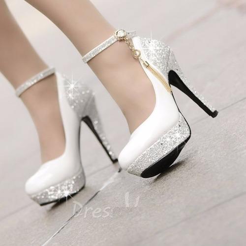 8e452dfbf Sapato Alto Luxo Para Noivas Festas Casamento 15 Anos Debuta (Outras ...