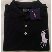 Camisa Feminina Rauph Lauren Polo Em Malha Piquet Promoção
