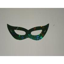 Mascara Holografica Carnaval Teatro Festa Fantasia Haloween