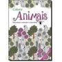 Livro Para Colorir-terapia - Tema Animais