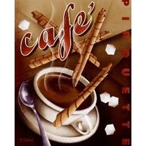 Placa Decoração - Cozinha Copa Cafeteria Café -oficina Retrô