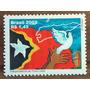 V-8480 - 2003 - Independencia Do Timor Leste Pomba Bandeira
