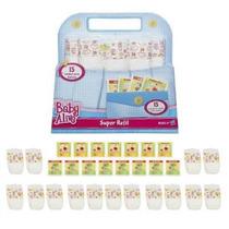 Baby Alive Super Refil 30 Itens Fraldas Comidas Hasbro