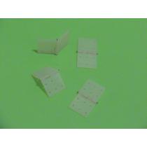 Pinned Hinge - Dobradiça Rc Nylon 18x35mm Pacote Com 04 Unds