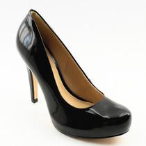 Sapato Salto Alto Feminino Social Meia Pata Preto 583876