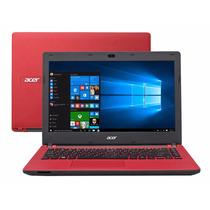 Notebook Intel Acer Es1-431-c494 Quad Core N3150 Vermelho