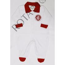 Macacão Infantil Internacional Time Futebol Bebê