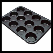 Forma Pão De Queijo E Cupcake Anti-aderente 12 Cavas