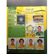 Álbum De Figurinhas Copa 2014 Completo Autografado