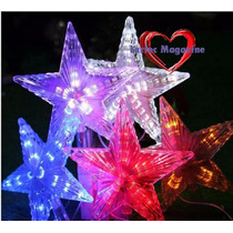 Kit Com 2 Estrelas Para Arvore De Natal-110v