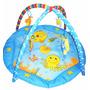 Tapete Mágico Atividades Infantil Bebe Color Baby Azul