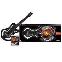 Guitarra Guitar Hero Warriors Of Rock Sem Fio E Jogo Ps3