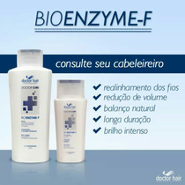 Kit Redutor Semidefinitivo Bioenzyme-f Doctor Hair