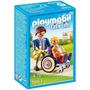 Playmobil 6663 Criança Na Cadeira De Rodas - Sunny