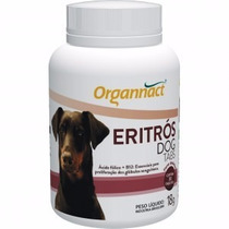 Eritrós Dog Tabs 18 G Organnact Pet Shop Store