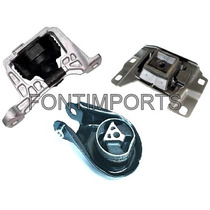 Kit Coxim Calço Motor Cambio Ford Focus Duratec 2.0 16v 09..