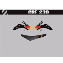 Adesivos Para Aletas Do Tanque E Capa De Banco Crf 230