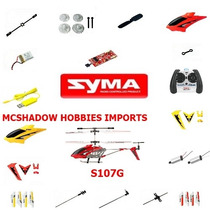 Bateria 3,7 Volts 130 Mha Helicóptero Syma 107