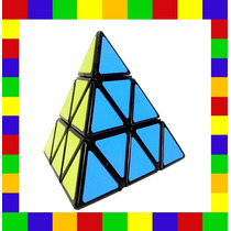 Cubo Mágico Pyraminx Shengshou Preto