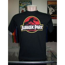 Camiseta Jurassic Park Parque Dos Dinossauros Cinema Tv