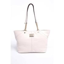 Bolsa Feminina Calvin Klein Couro Off White - H4aaa2fg