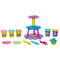 Conjunto Playdoh Torre De Cupcake - Hasbro