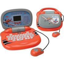 Laptop Infantil Diversão Aviões 30 Atividades Candide