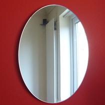 Espelho Decorativo Acrílico Formas Oval - 2pc 35x40cm