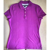 Camisa Polo Feminina Tommy Hilfiger N Abercrombie, Lacoste