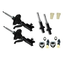 Kit 4 Amortecedor + Batente Honda Civic 1.7 2003 2004 2005