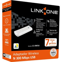 Adaptador Wireless N 300m Usb L1-aw3u