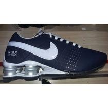Tênis Nike Shox Masculino Marinho Amortecedor
