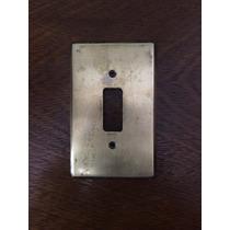 Espelho De Tomada Interruptor Bronze