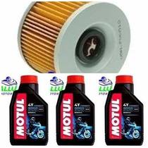 Kit Troca Oleo/filtro Xt 600 Tenere Motul3000 20w50 Kallu