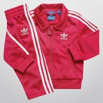 Adidas Agasalho Conjunto Infantil Calça E Blusa 12x S/juros