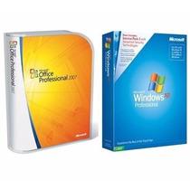 Cd Windos Xp - Sp3 Pro + Offce 2007 Pro - 32 Bits Português