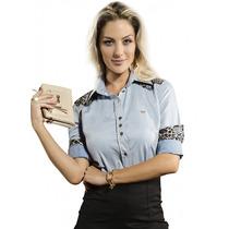 Blusa Fashion Jeans Feminina Principessa Hanna