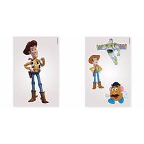 Adesivo Toy Story De Parede Noturno Colorido - Frete Gratis