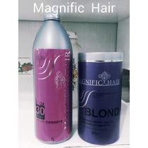 Po Descolorante,ox De 30vl Magnific Hair, Frete Gratis
