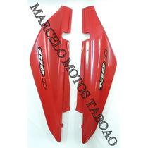 Carenagem Lat Tras Nxr 150 Ks Bros 2006 Vermelha ( O Par )