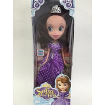 Boneca Princesa Sofia The First Princesinha Sophia